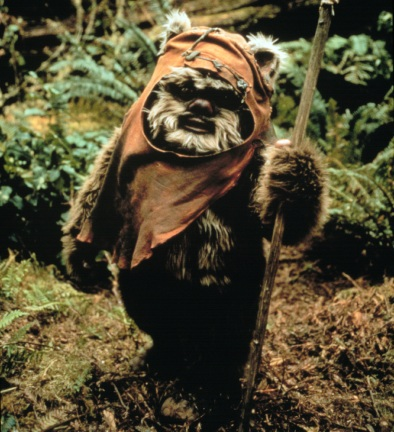 jedins återkomst originaltitel return of the jedi warwick davis spelade en ewoker